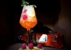 Aperol de luxe cocktail