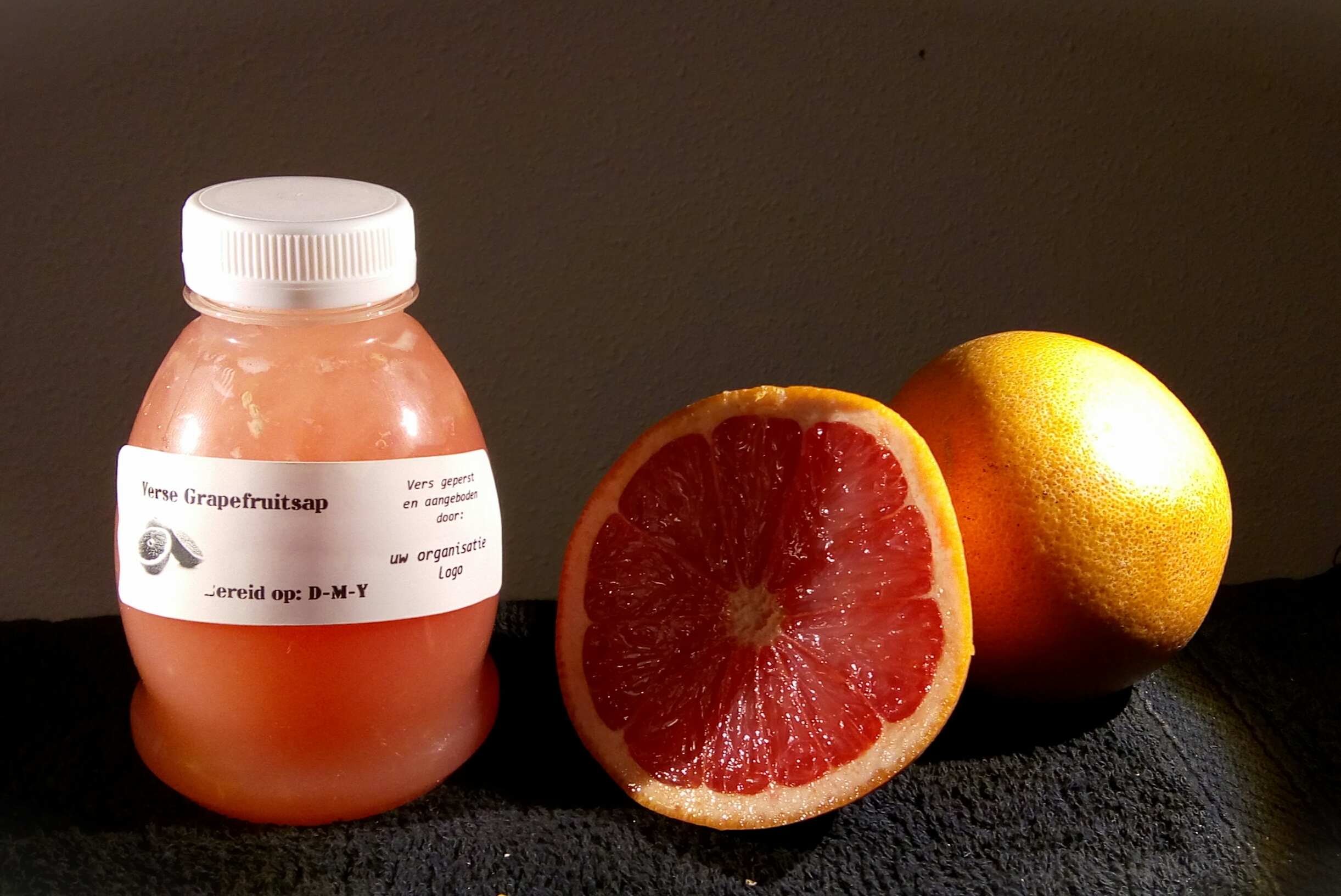 250 ml vers geperst Grapefruitsap