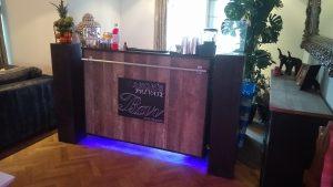Gin Tonic Bar bruin industrieel