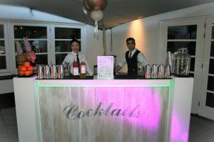 cocktailbartenders van ik wil cocktails bij Finley het witte huis