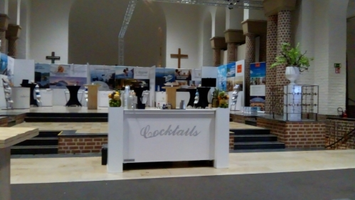 cocktailbar Holland America Line 3&4 november 2018 tijdens cruise travel beurs