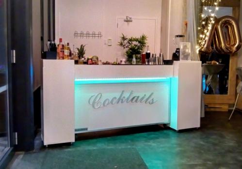 cocktailbar geplaatst bij NStyle in Barendrecht 29-09-2018